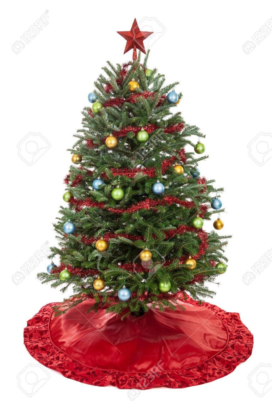Weihnachtsbaum Girlande.Stock Photo