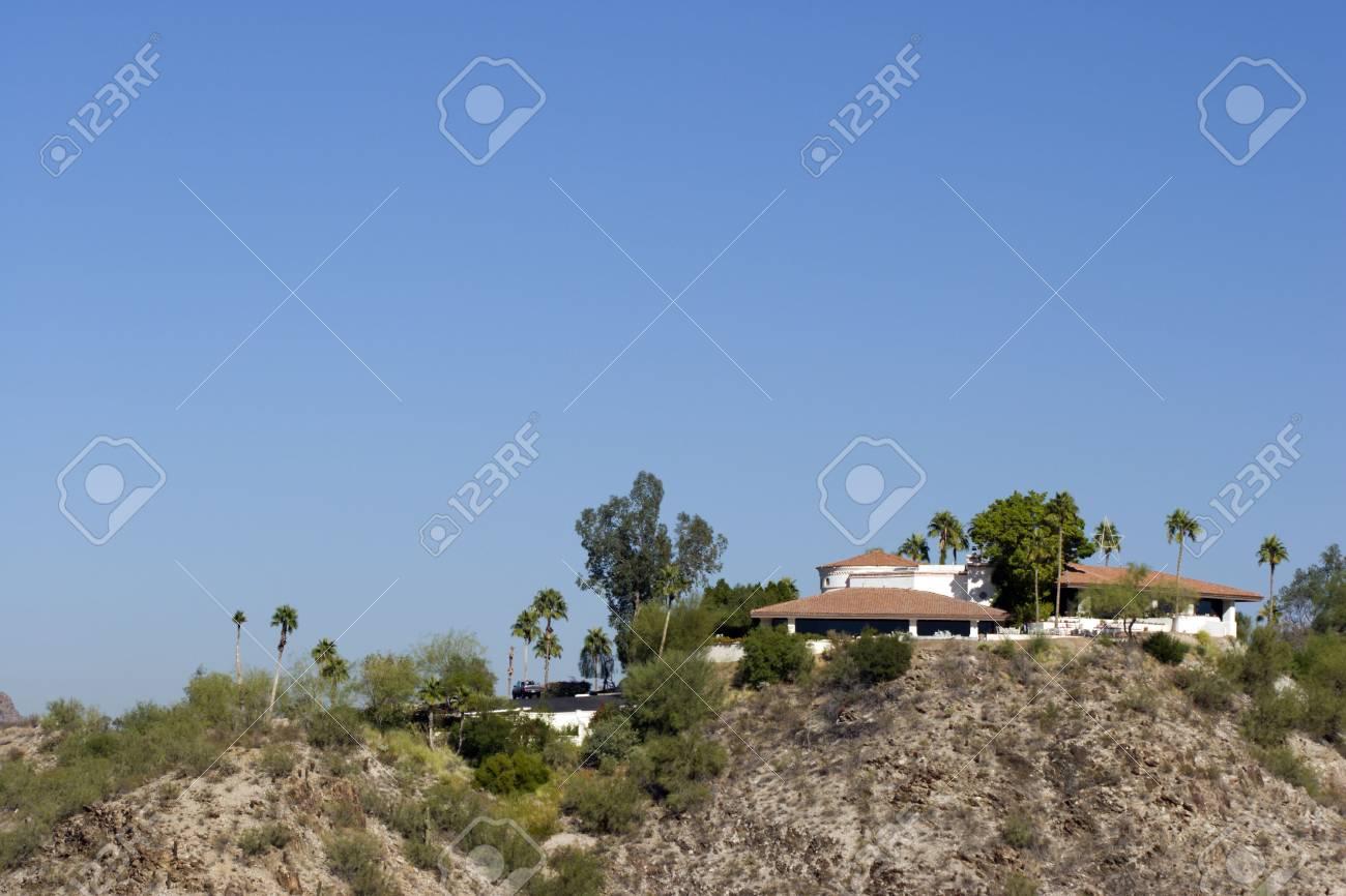 Phoenix Desert Hills Housing as seen from North Mountain, Arizona Stock Photo - 1810021