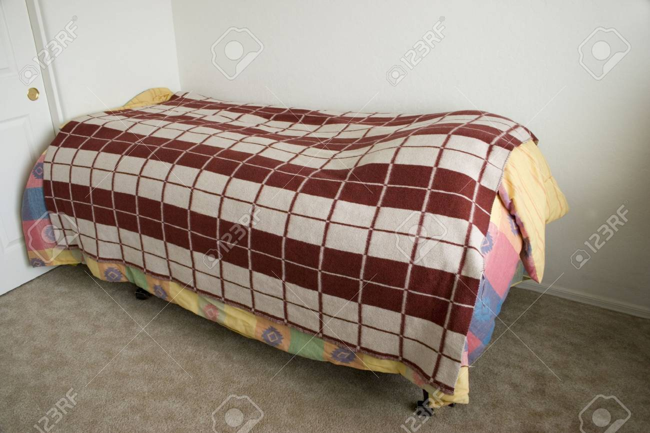 Picture of: Extra Long Twin Bed Of Unmarried Man Stock Photo Picture And Royalty Free Image Image 2011528