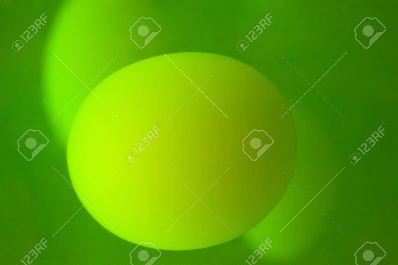 Glowing green and yellow lava lamp background Stock Photo - 6149835