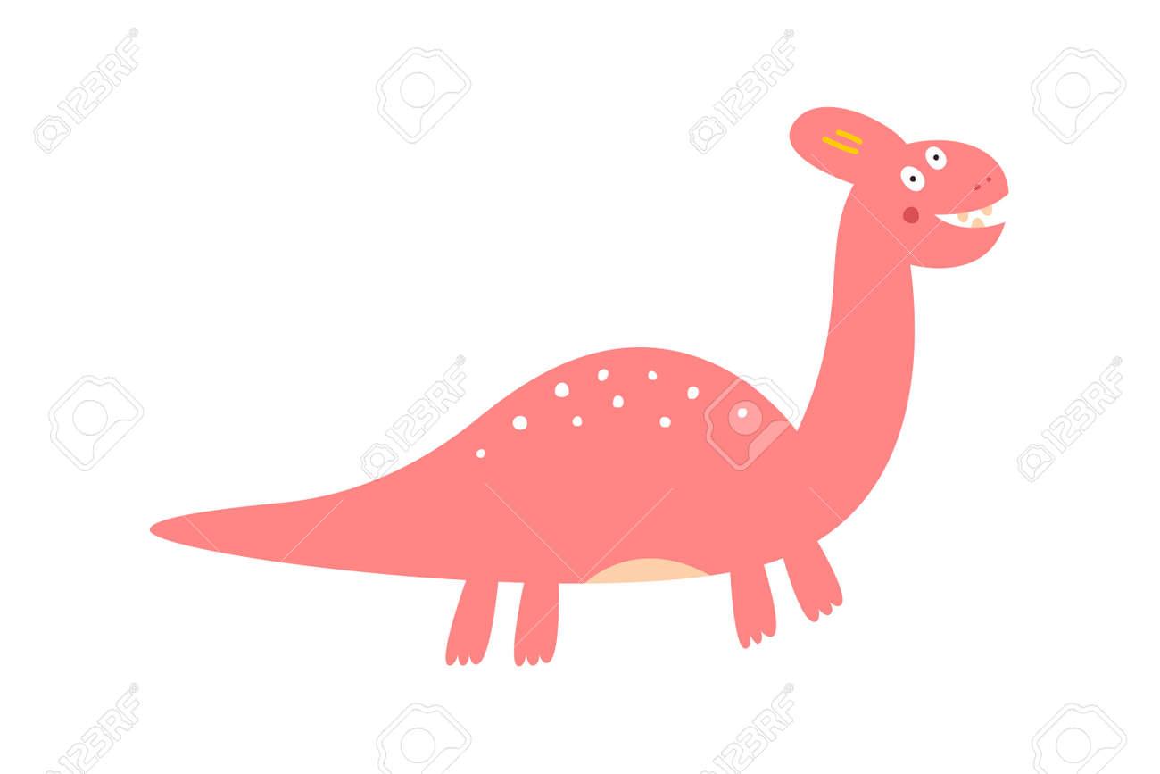 Cute dinosaur drawn as vector for kids fashion. - 169771751