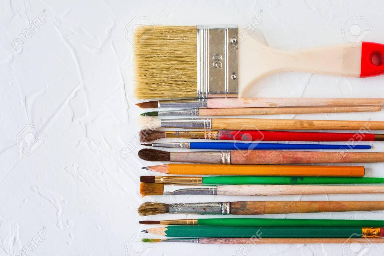 Art Paint Brushes Sizes