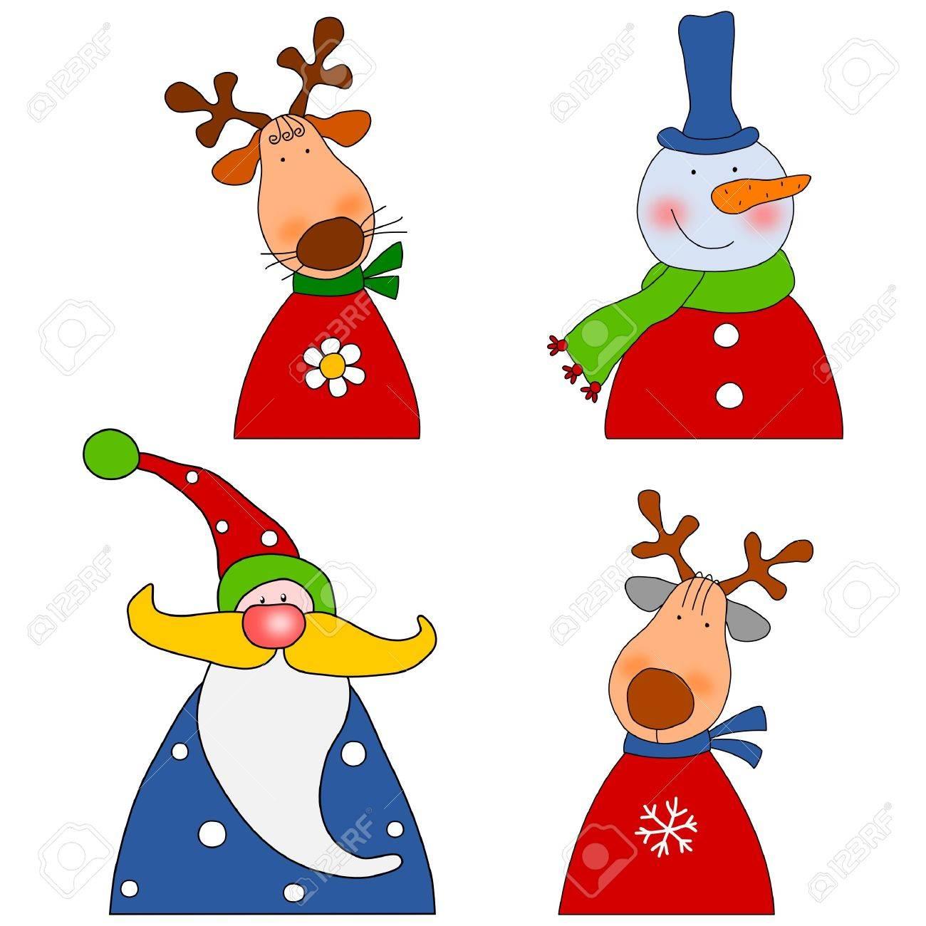 Cartoon characters Stock Photo - 11696553