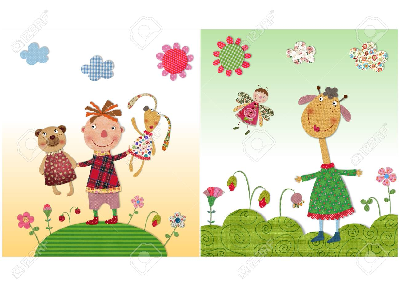 子供向けイラスト の写真素材画像素材 Image 24991627