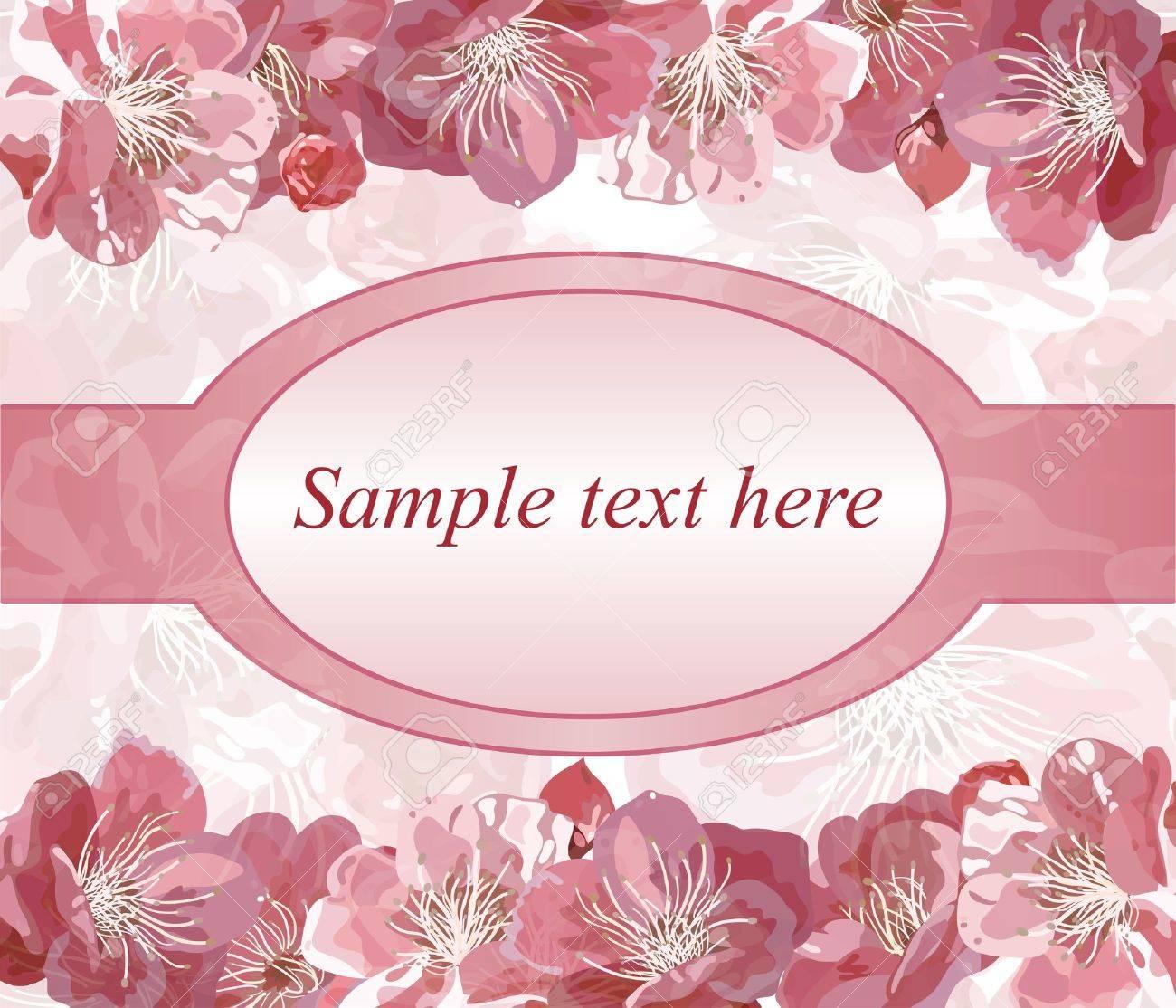 Invitation for wedding. Stock Vector - 12346622