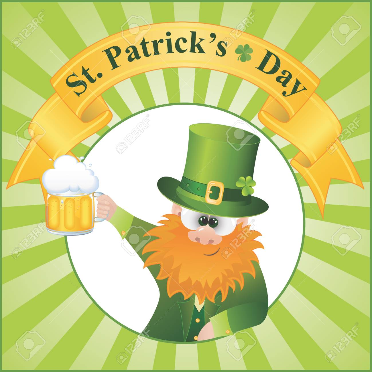 St  Patrick s Day vector Illustration  EPS 8 Stock Vector - 12495089