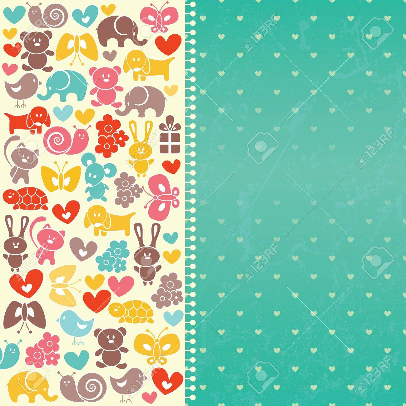 Baby blue background with place for text  EPS 10 vector illustration Stock Vector - 14786280