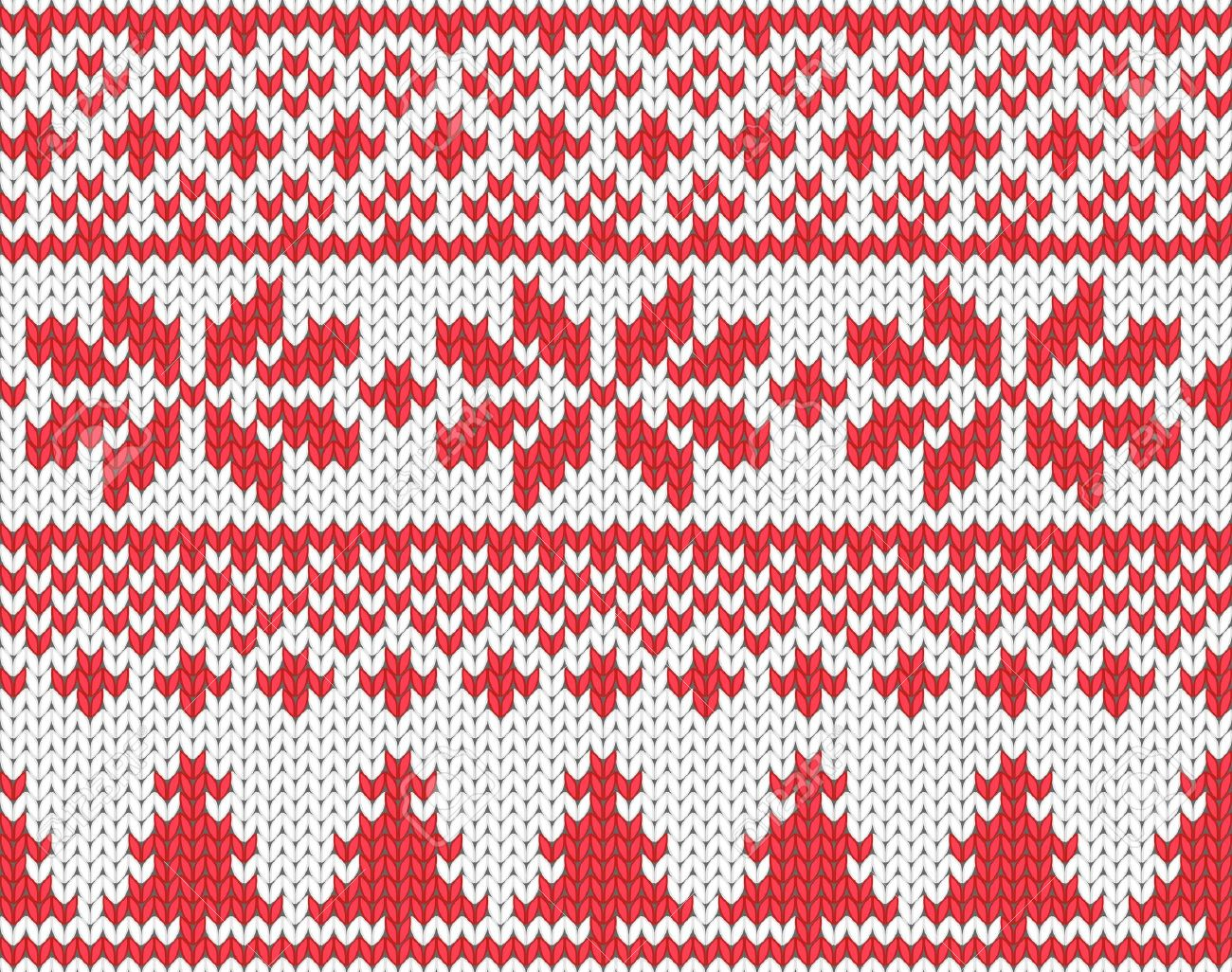 Christmas seamless knitted background Stock Vector - 16014969