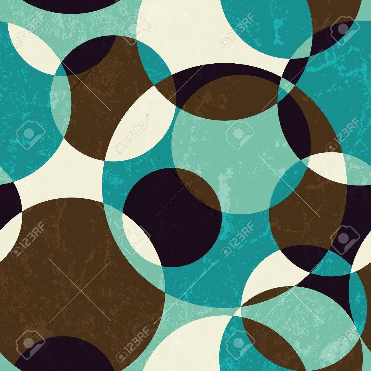 Retro abstract seamless pattern  EPS 10 vector illustration Stock Vector - 17668217