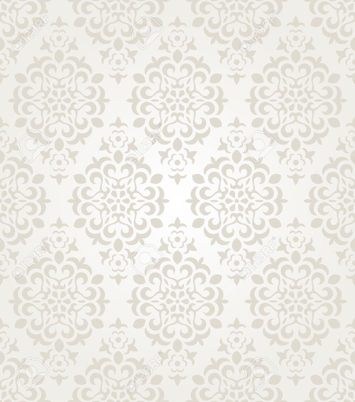 Papier Peint Floral De Cru Arri Re Plan Transparent Clip Art