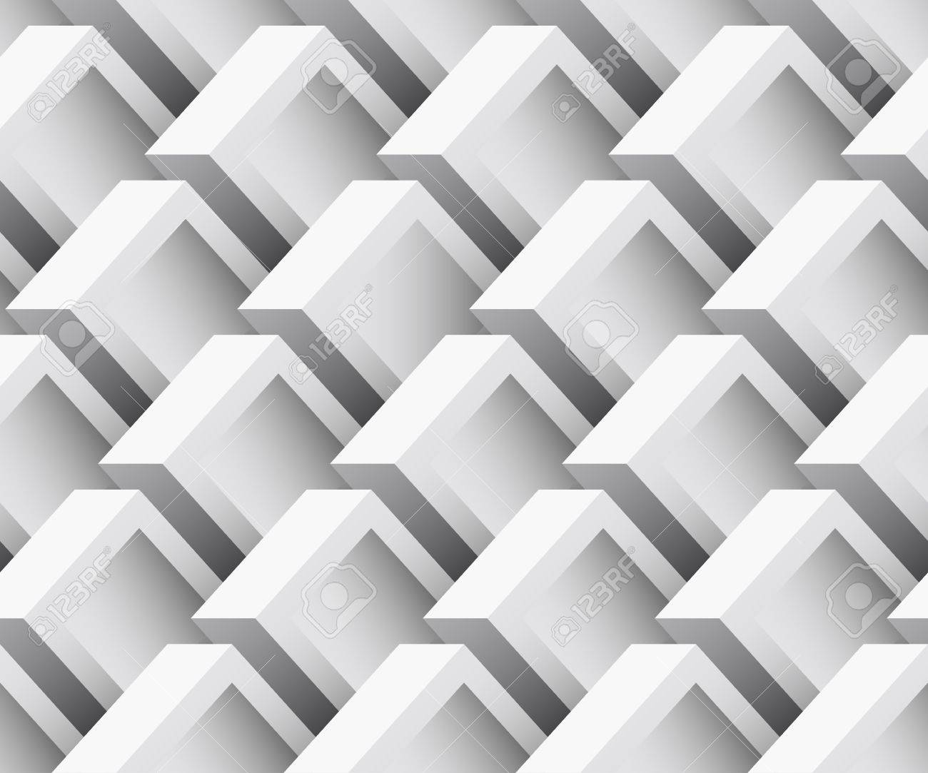 3d seamless texture  Abstract geometric background  EPS 8 vector illustration Stock Vector - 23104043