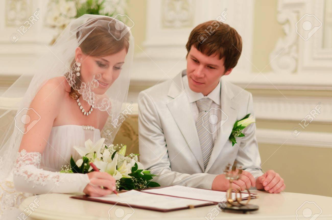 couple sign wedding register stock photo picture and royalty free