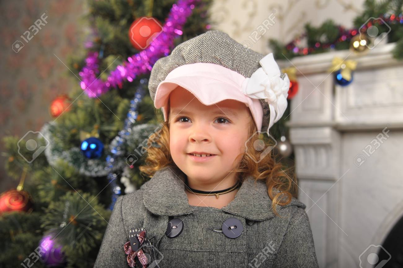 Victorian style portrait of cute little girl Stock Photo - 8660420