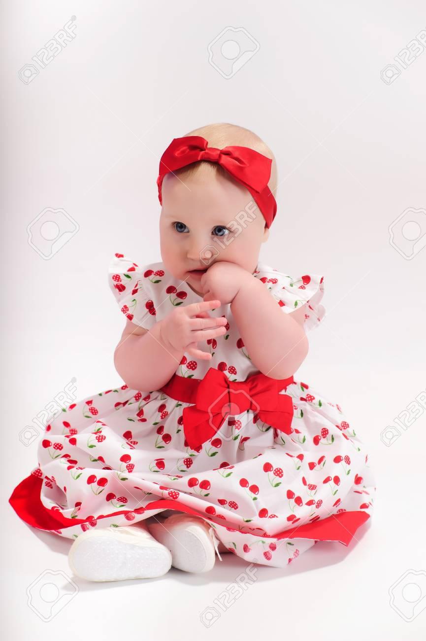 Baby girl Stock Photo - 9238162