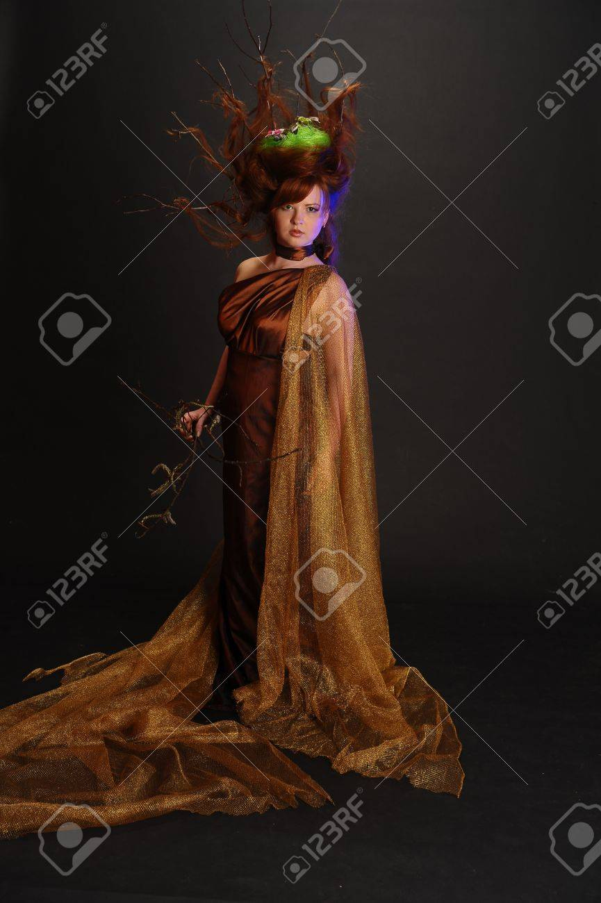 Forest Witch Stock Photo - 9080918