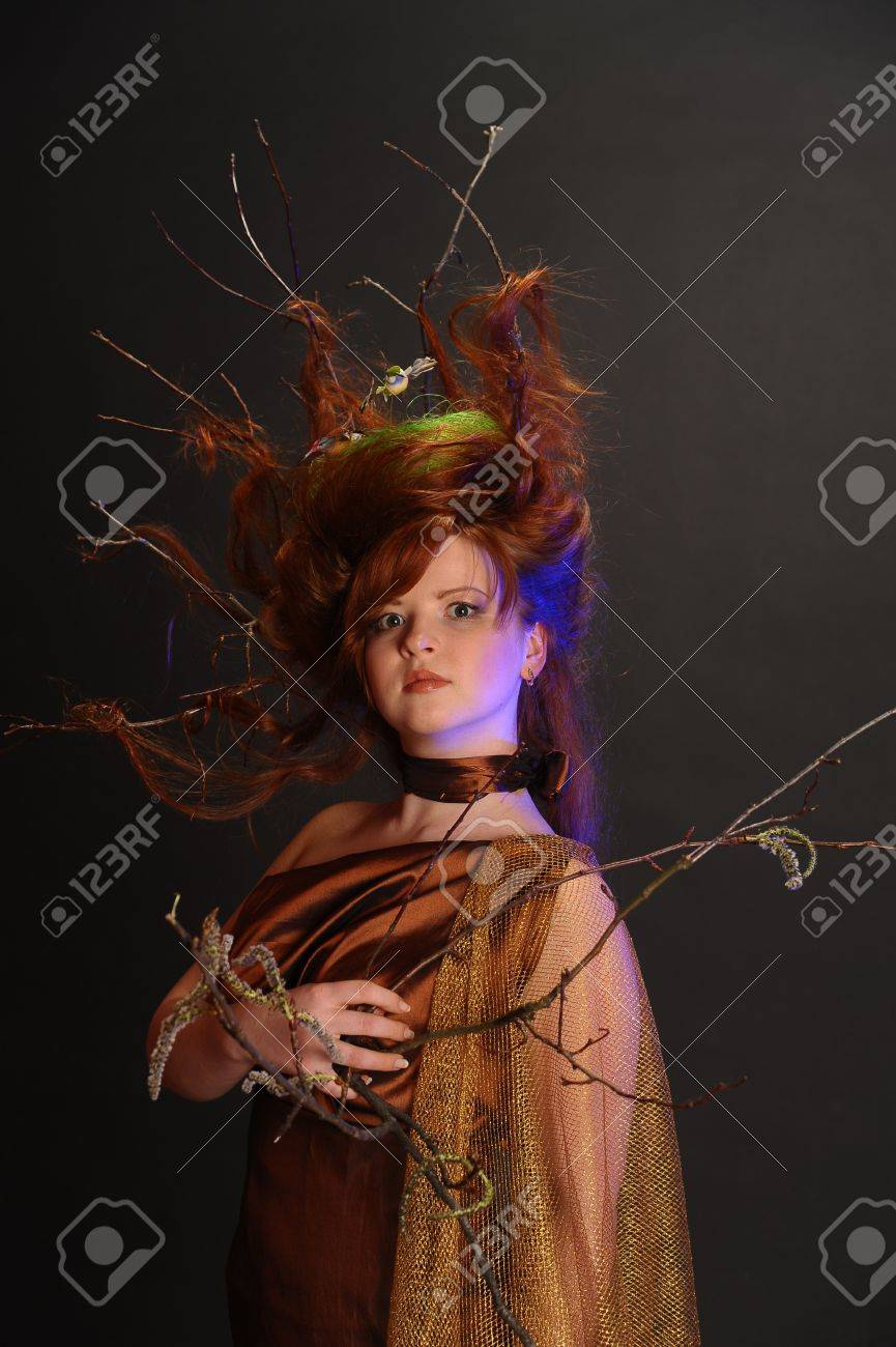 Forest Witch Stock Photo - 9080919