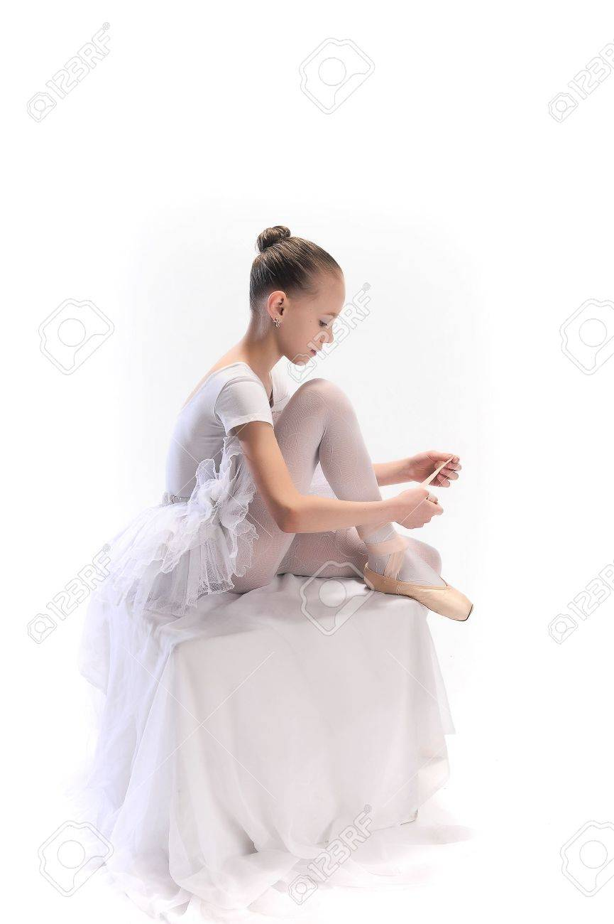 Little ballerina Stock Photo - 9080097