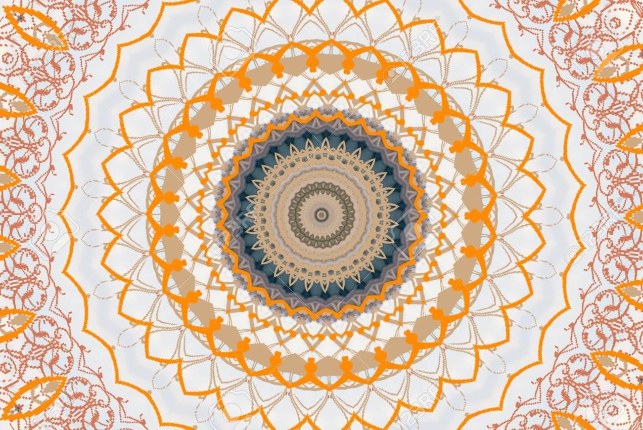 orange circular ornament Stock Photo - 9723319