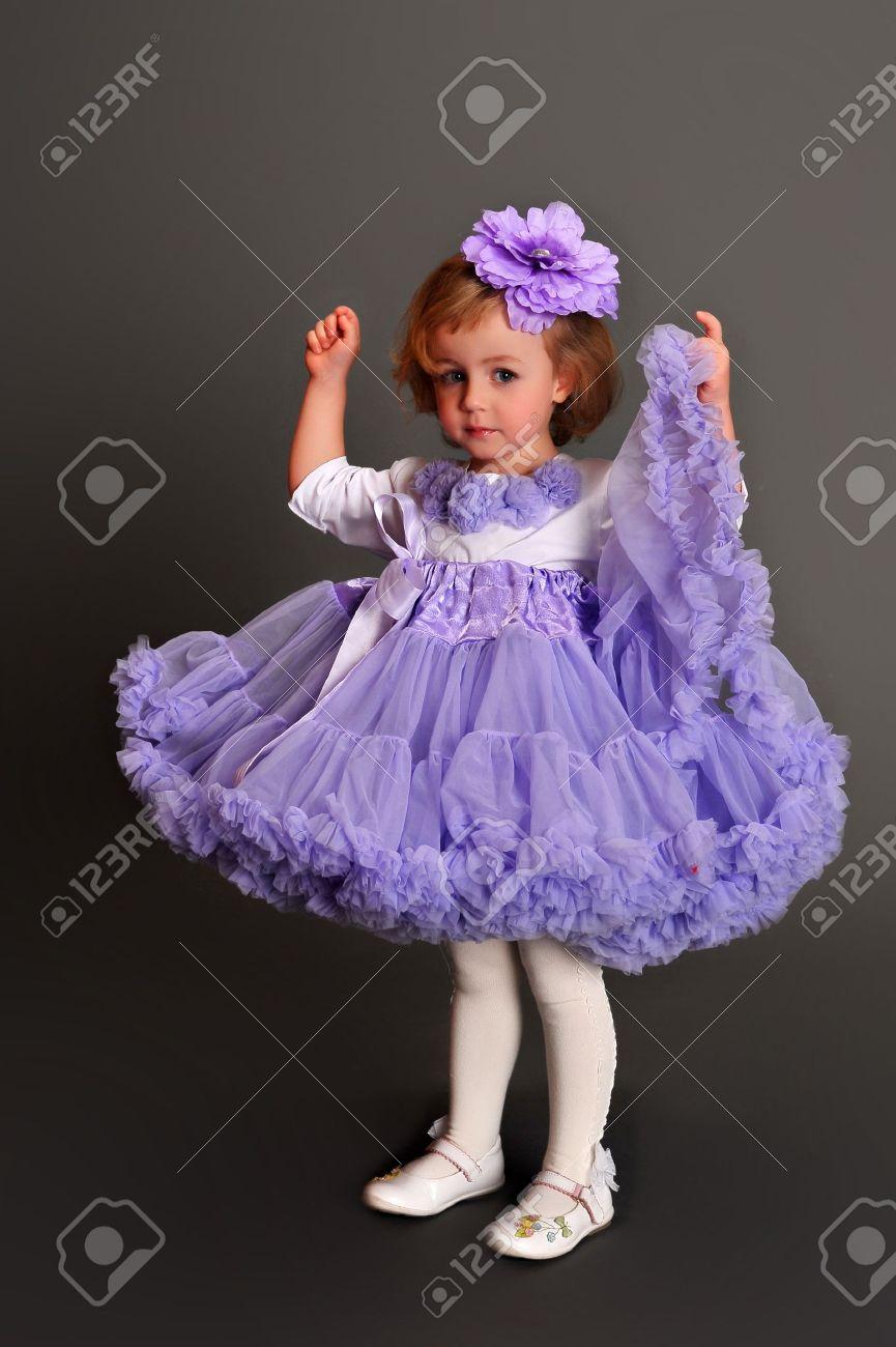 Child wearing pettiskirt Stock Photo - 10747337