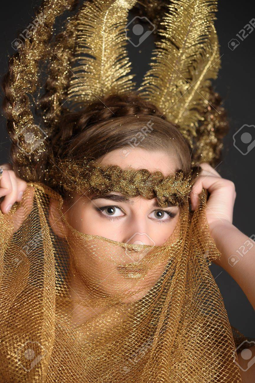 golden lady Stock Photo - 10327107