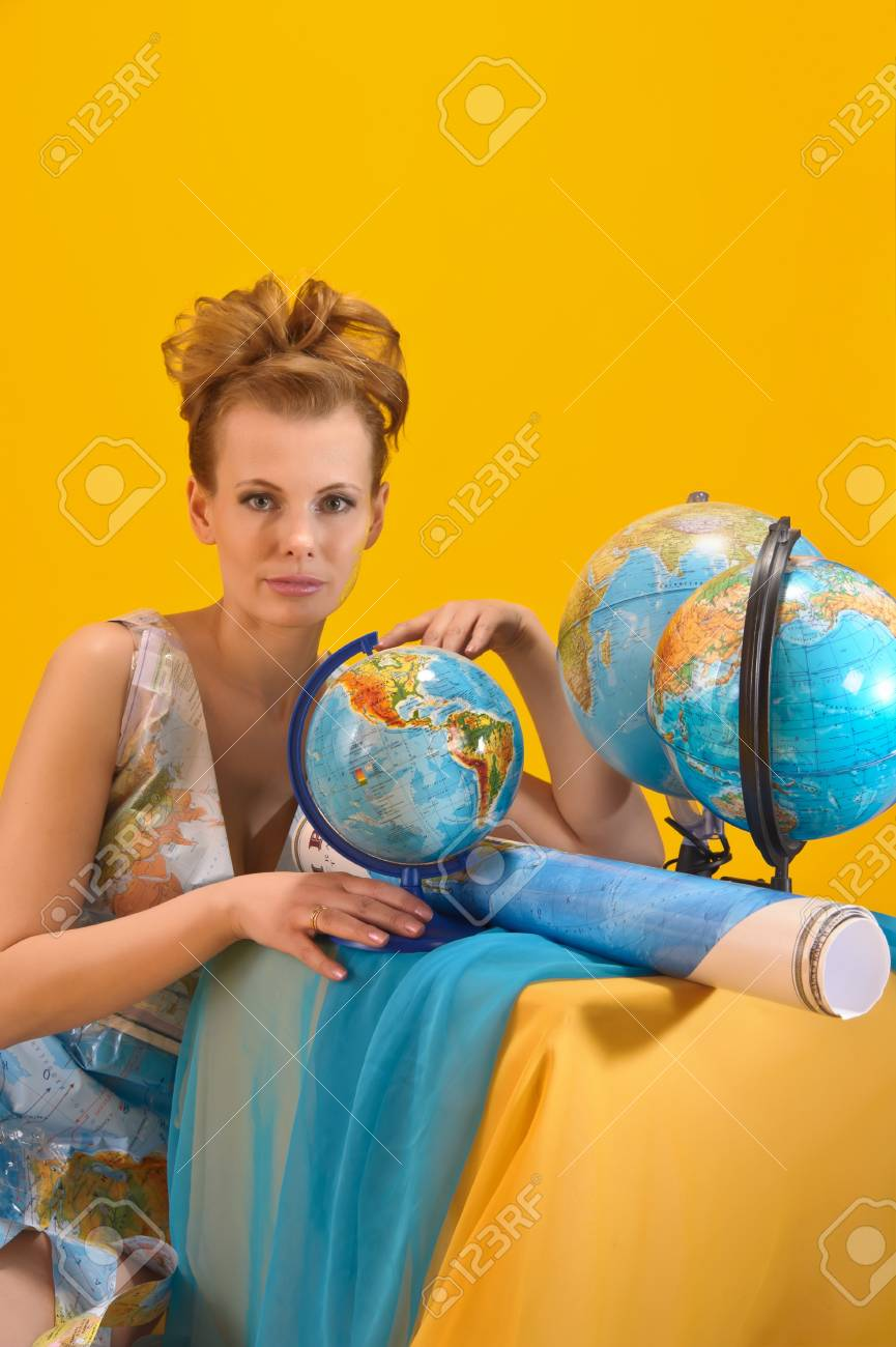 World girl Stock Photo - 10080113