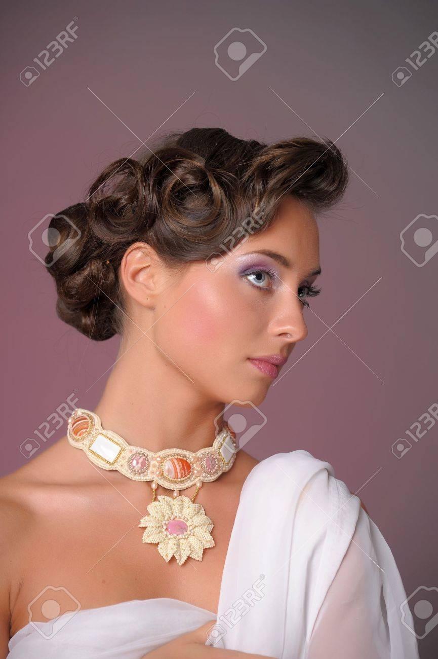 wedding hairstyle Stock Photo - 9669633