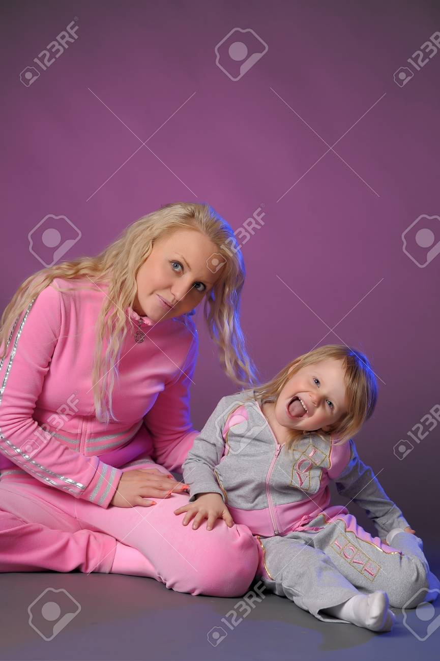Mother and daughter Stock Photo - 10921274