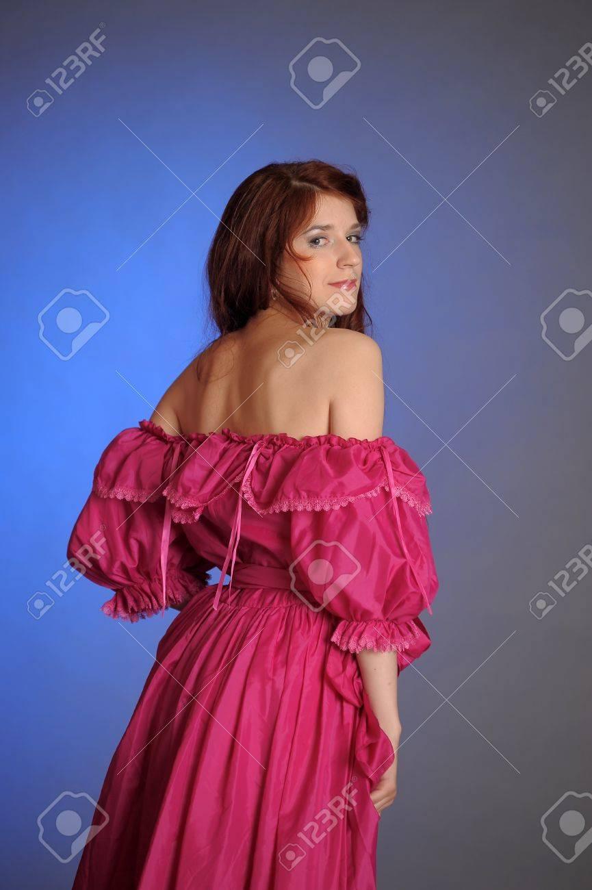 VICTORIAN BEAUTIFUL WOMAN Stock Photo - 10578397