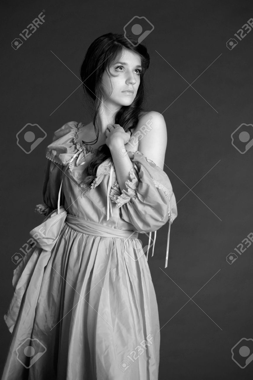 VICTORIAN BEAUTIFUL WOMAN Stock Photo - 10578406