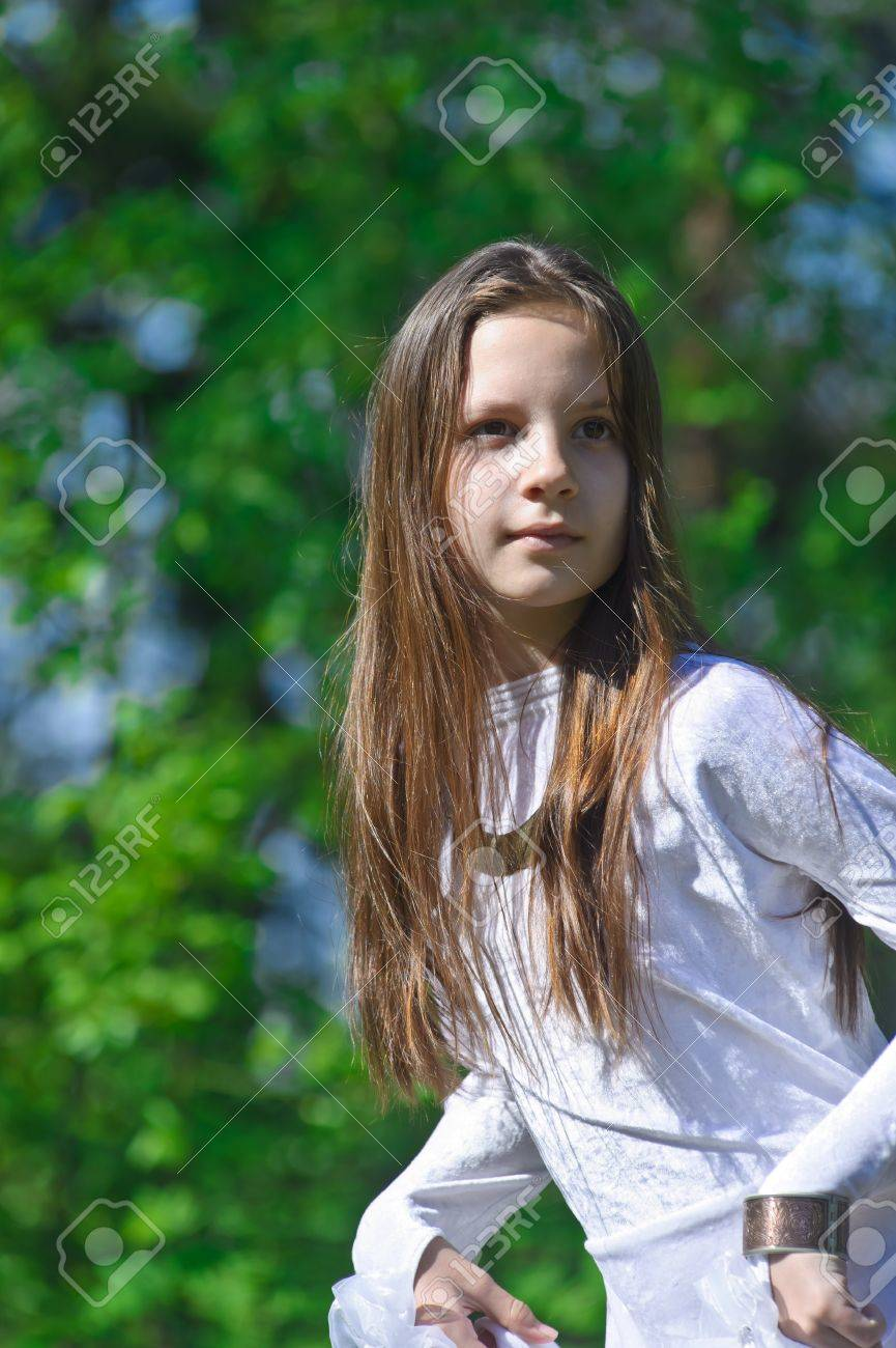 Princess in the Park Stock Photo - 10324623