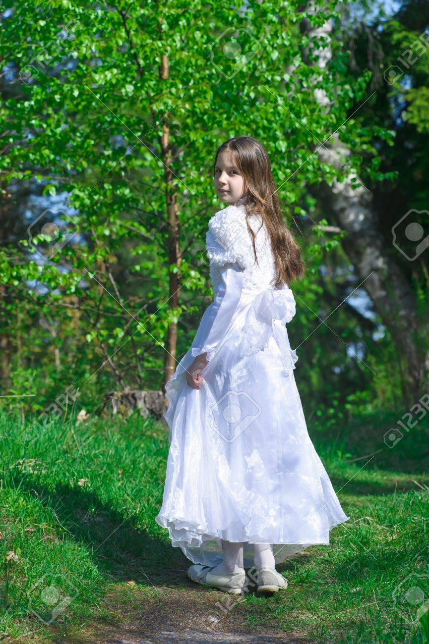 Princess in the Park Stock Photo - 10324634