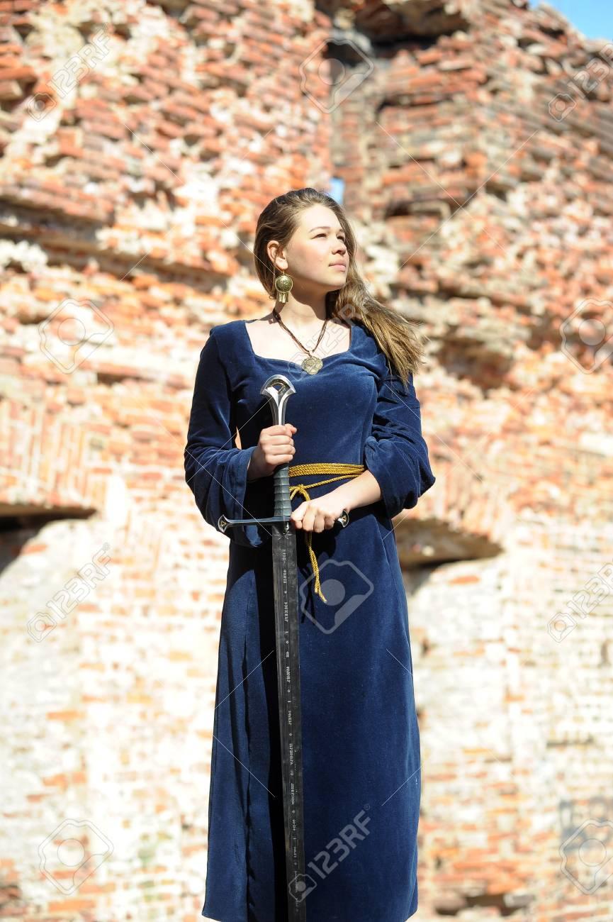 Girls in medieval stocks nude clip
