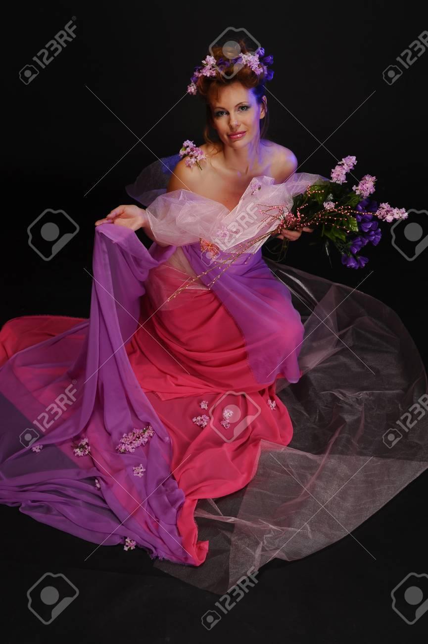 Spring girl Stock Photo - 10326710