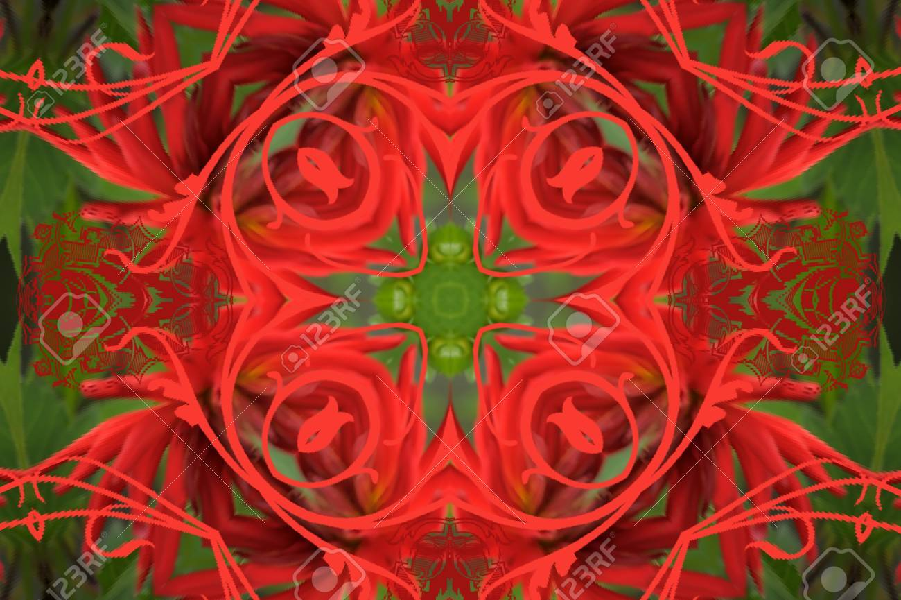 red and green ornament Stock Photo - 10509133