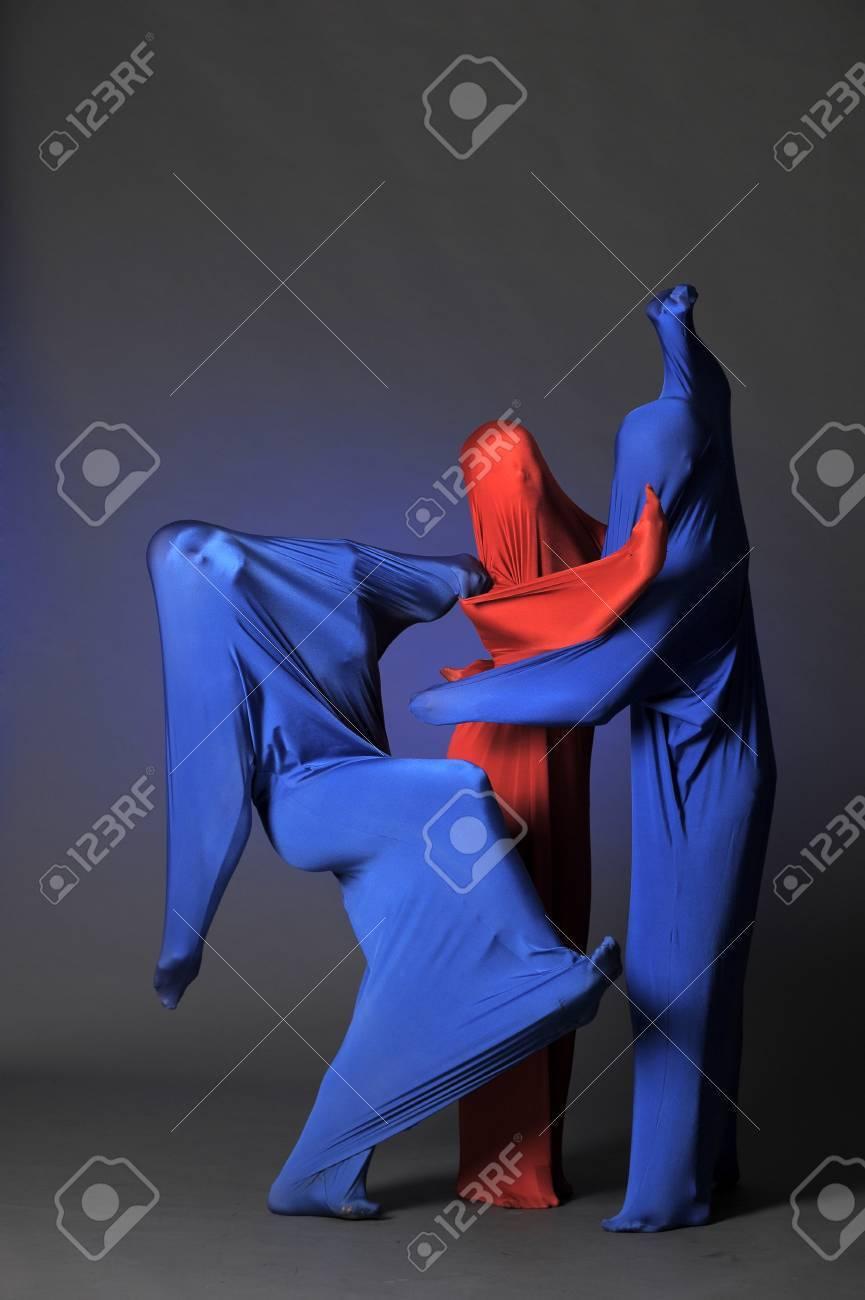 three abstract human figures Stock Photo - 13292610