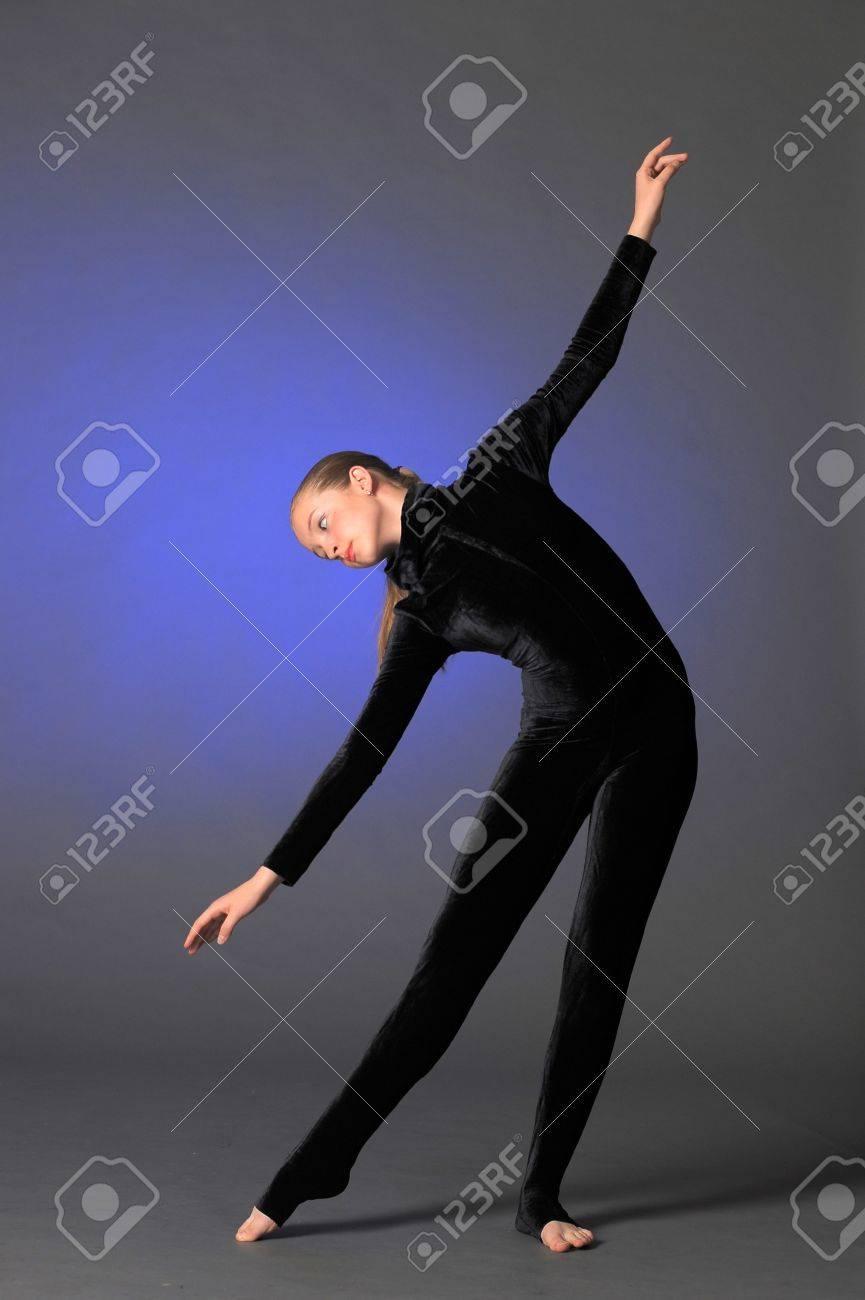 Beautiful flexible gymnast Stock Photo - 10728239