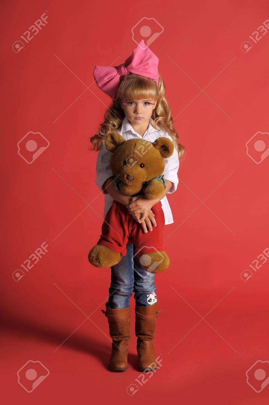 Children fashion doll blond girl Stock Photo - 13683257