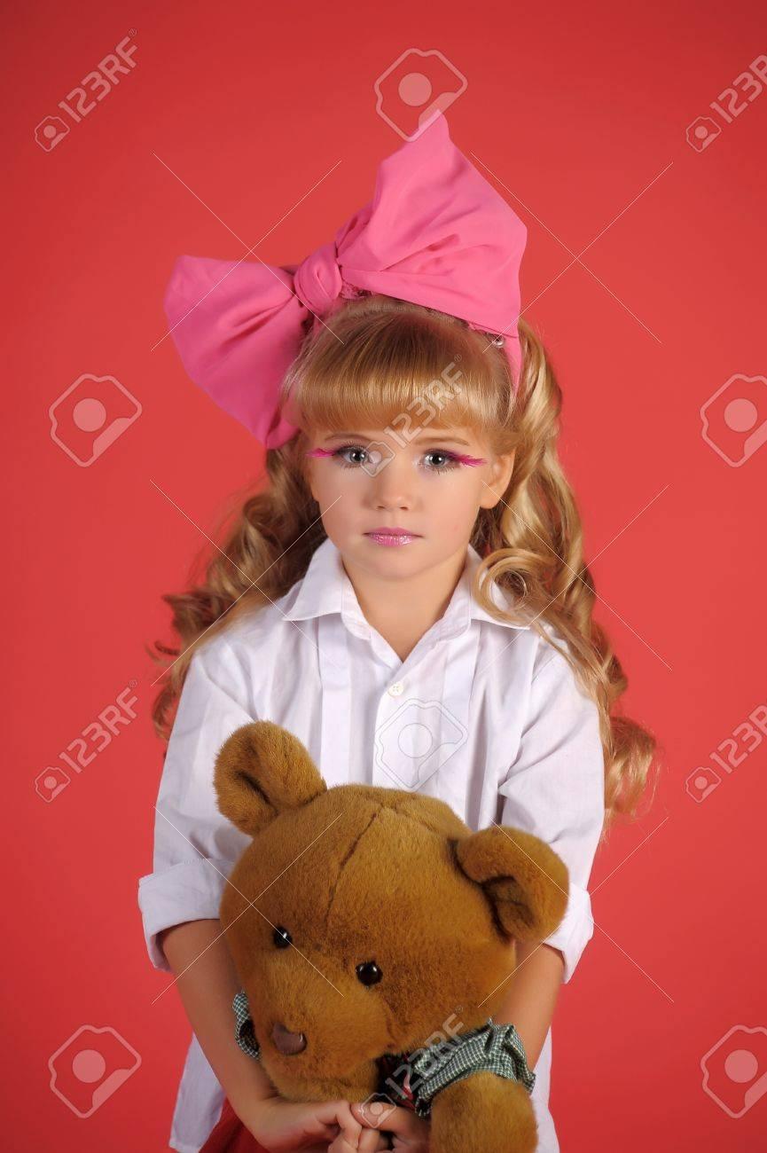 Children fashion doll blond girl Stock Photo - 13683268
