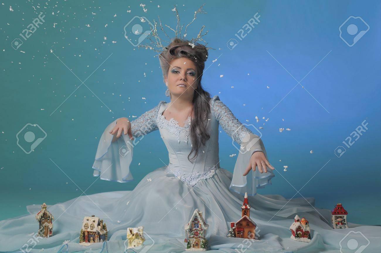 winter queen Stock Photo - 13296370