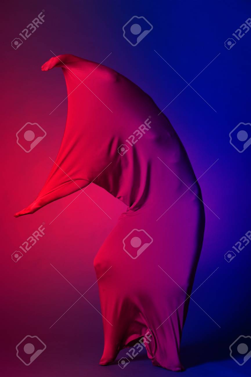 Abstract dancing figure Stock Photo - 12676590