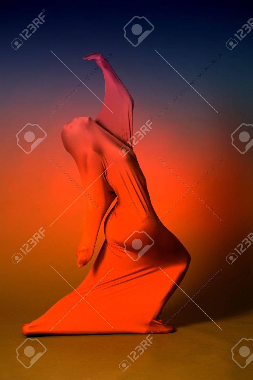 Abstract dancing figure Stock Photo - 13236690