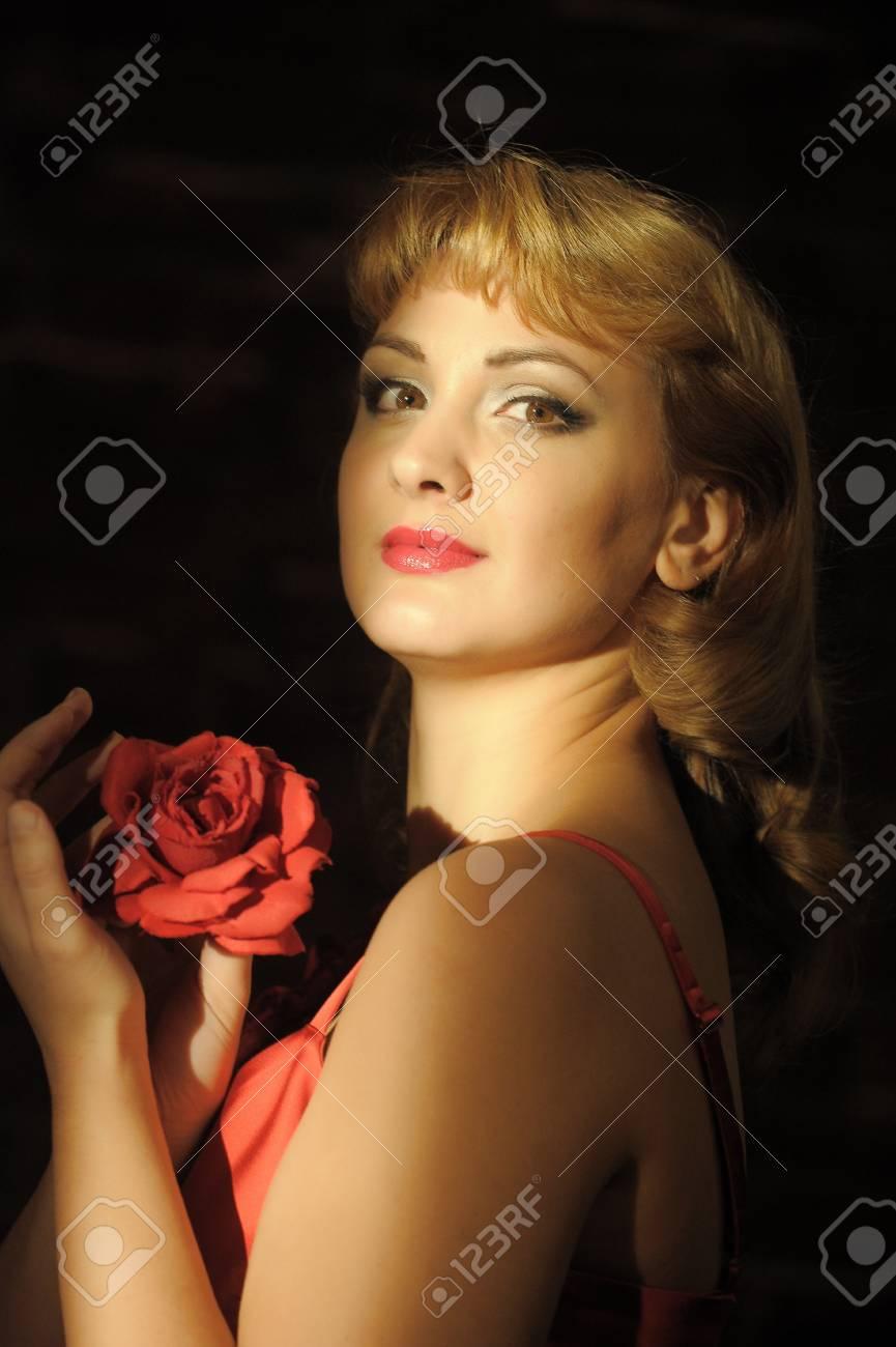 Pretty Woman Portrait Stock Photo - 13253345