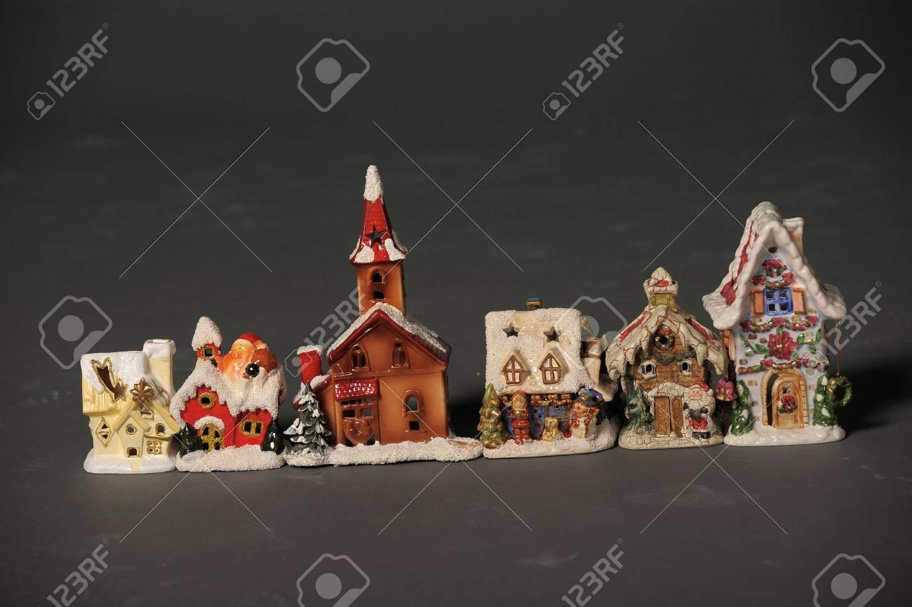 Porzellan Weihnachten.Stock Photo