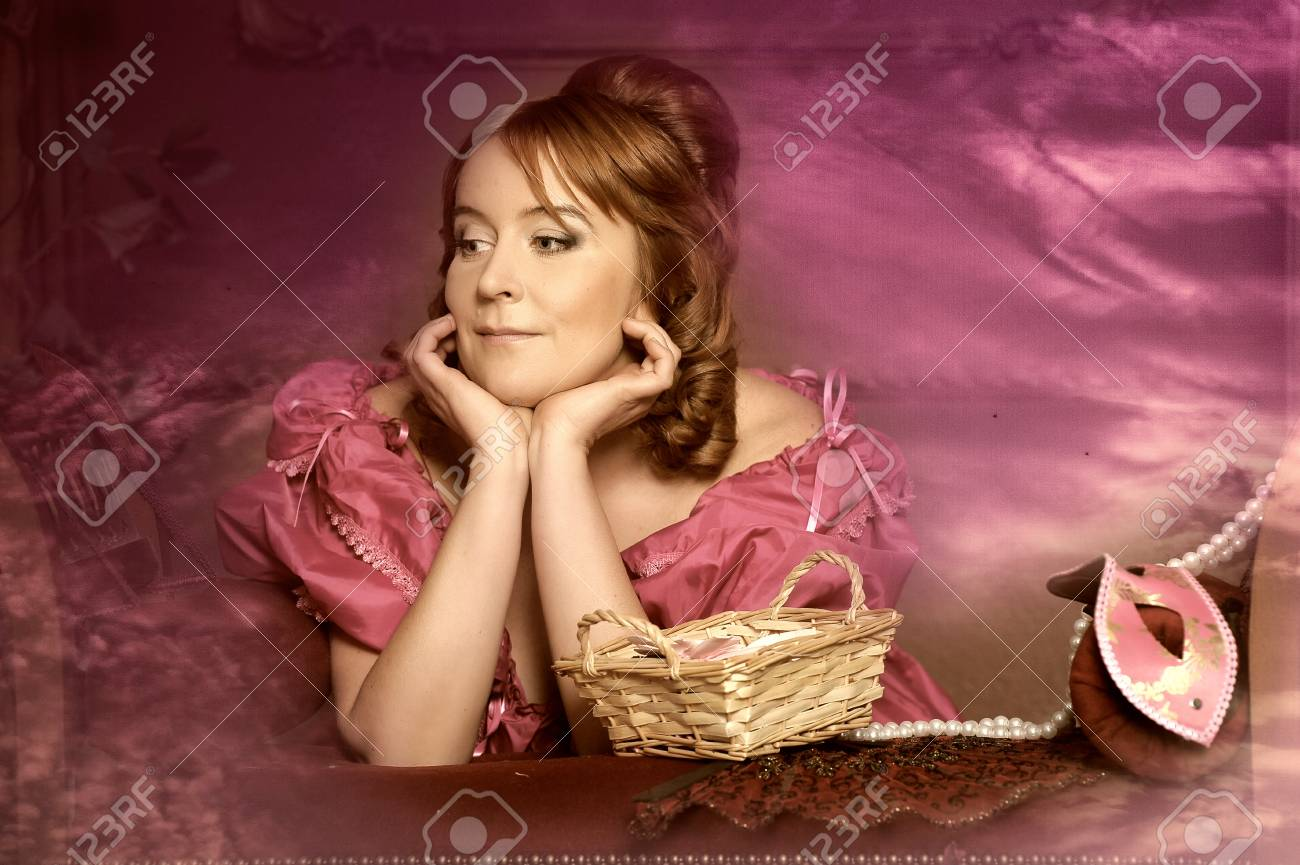 medieval lady Stock Photo - 13253356
