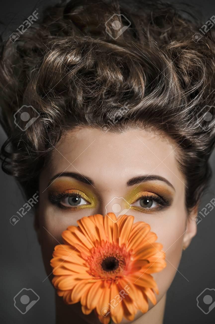 Flower Woman Stock Photo - 13135284