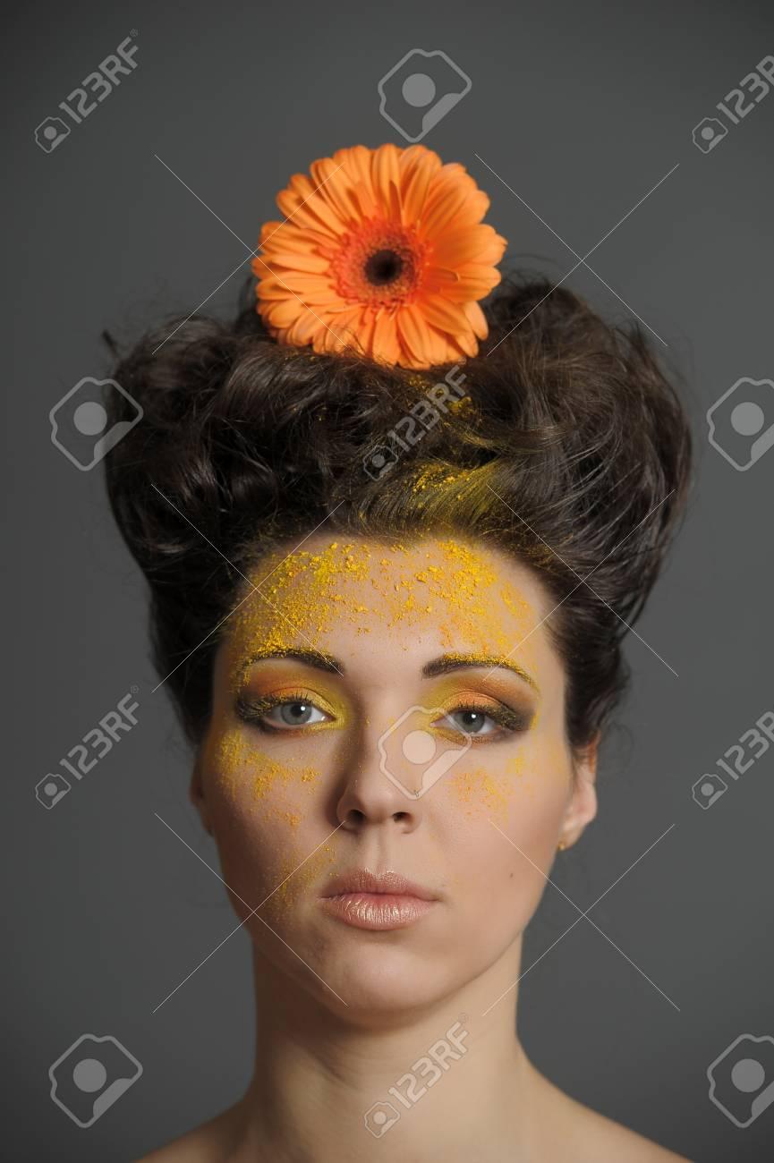 Flower Woman Stock Photo - 13135033