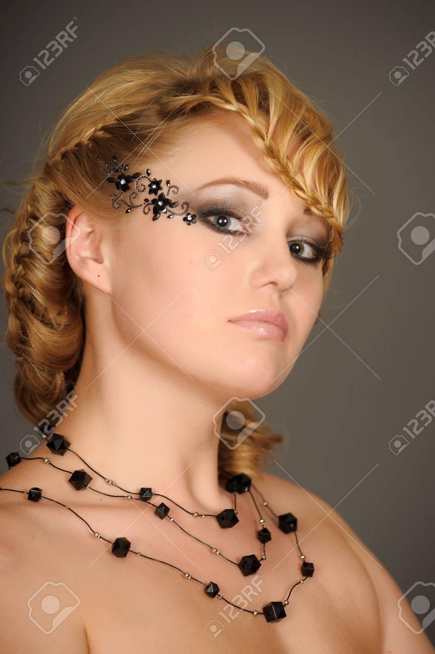 beautiful blonde portrait Stock Photo - 13503025