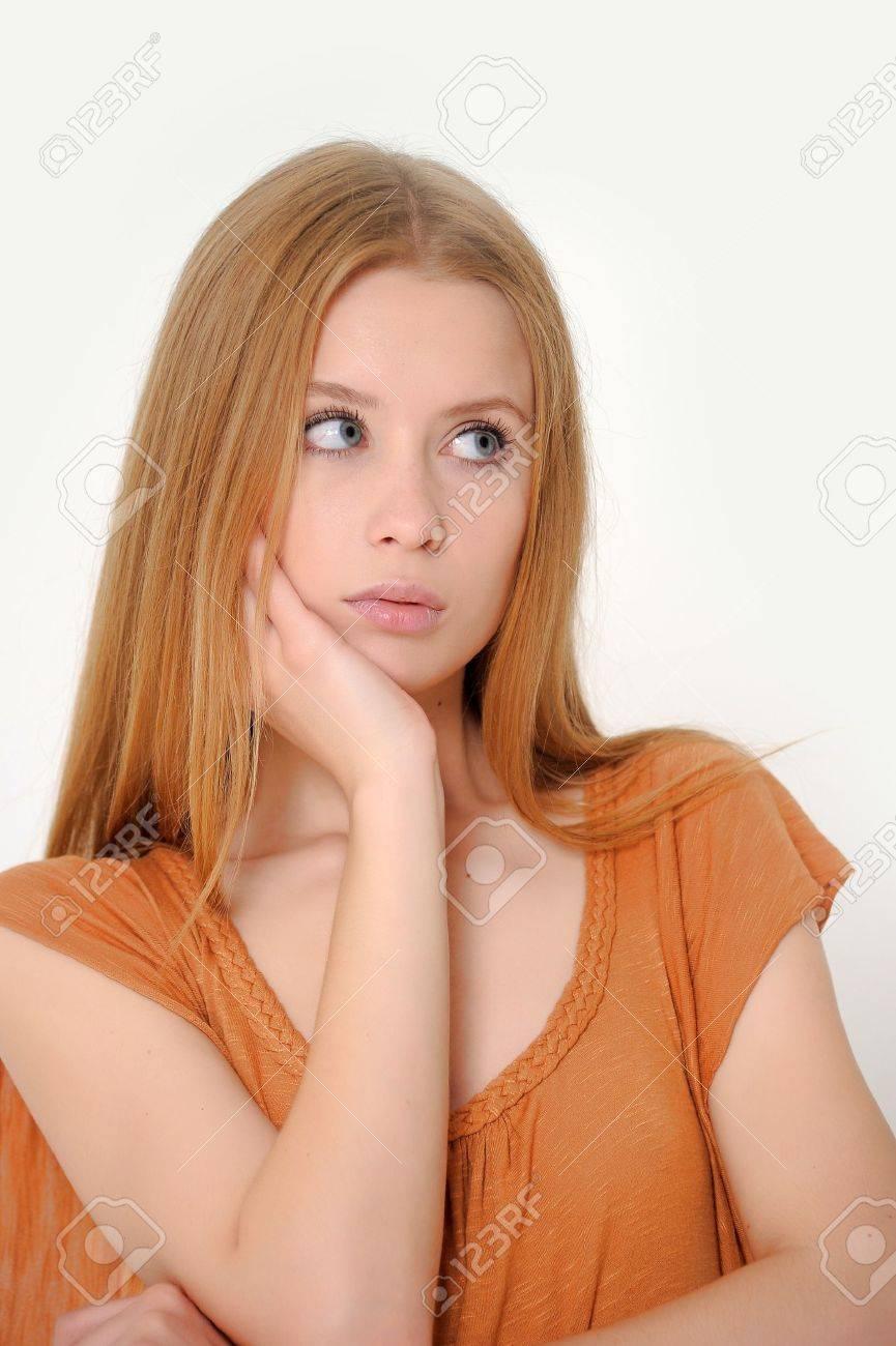 Unhappy woman Stock Photo - 13728232