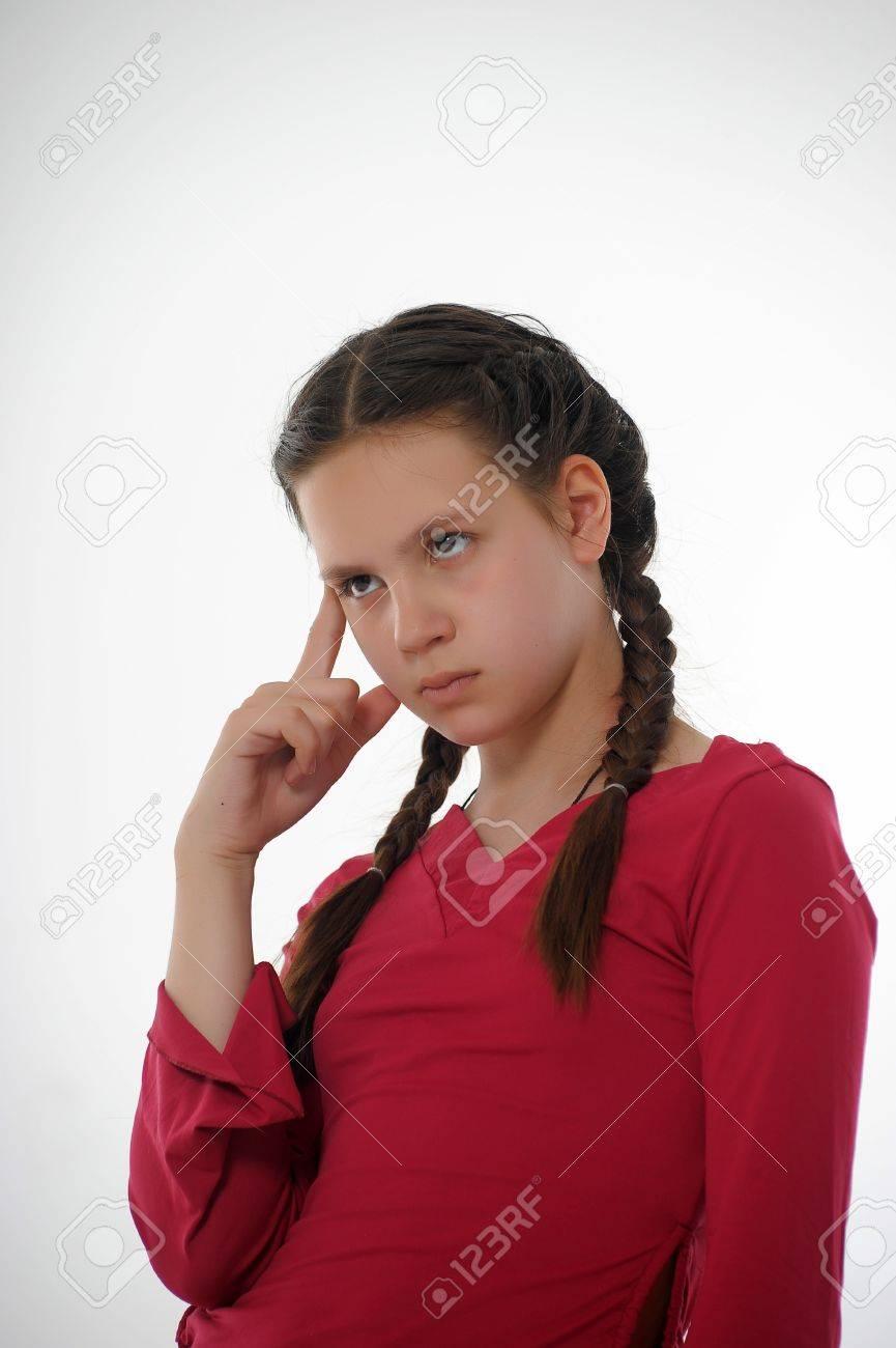 teen girl in reverie Stock Photo - 14167254