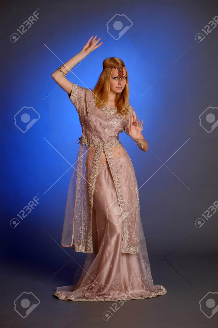 girl in eastern dress Stock Photo - 13929675